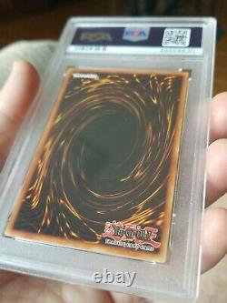 Yugioh Dark Magician Lob 005 1er Éd. Psa 10 Gem Mint Wavy 1st Print Run Rare