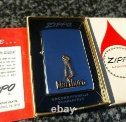 Zippo, Marlboro Man 1981 Briquet (extrêmement Rare)