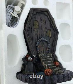 (extremement Rare) Nocturne Avant Noël Hawthorne Village Coffin House